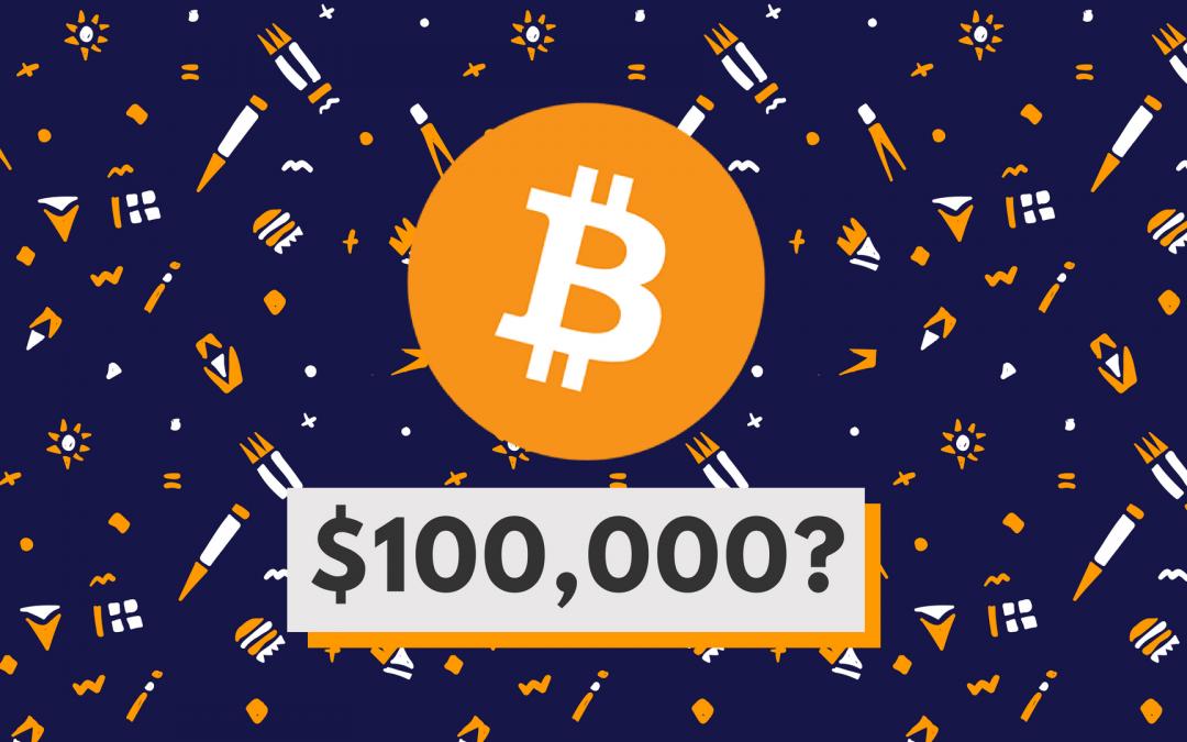 Bitcoin värt 100 000 dollar?