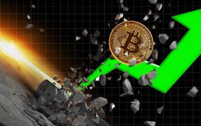 Bitcoin Rusar igen