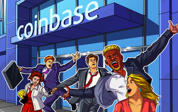 Coinbase börsnoteras