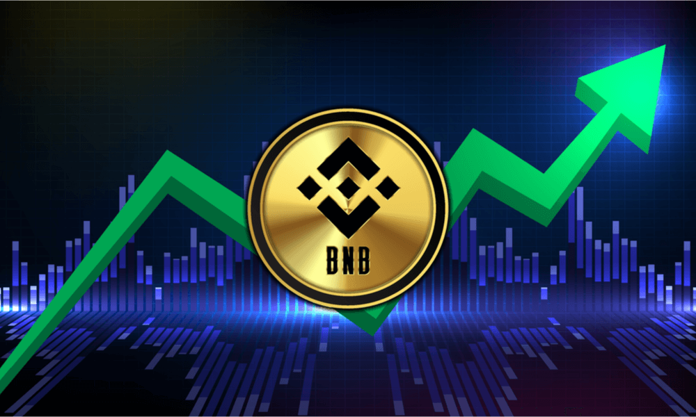 Binance Coin rusar