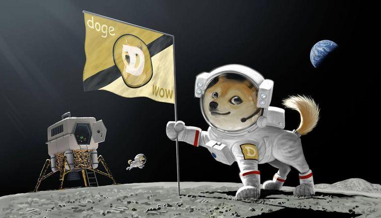 Dogecoin världens fjärde största kryptovaluta