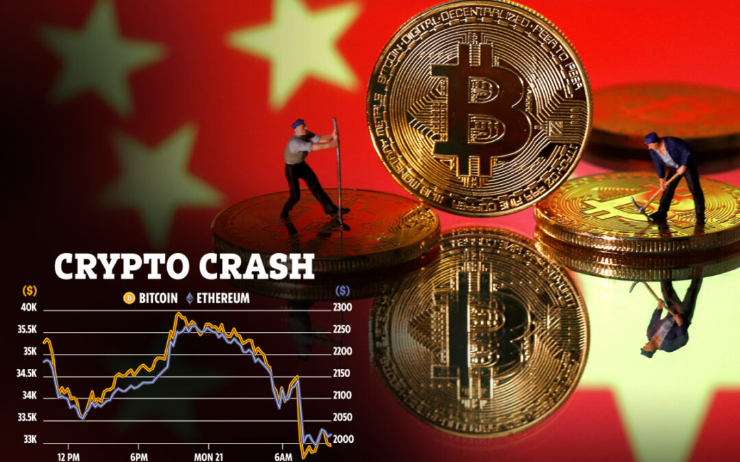 Kinesisk Bank sänker Kryptomarknaden