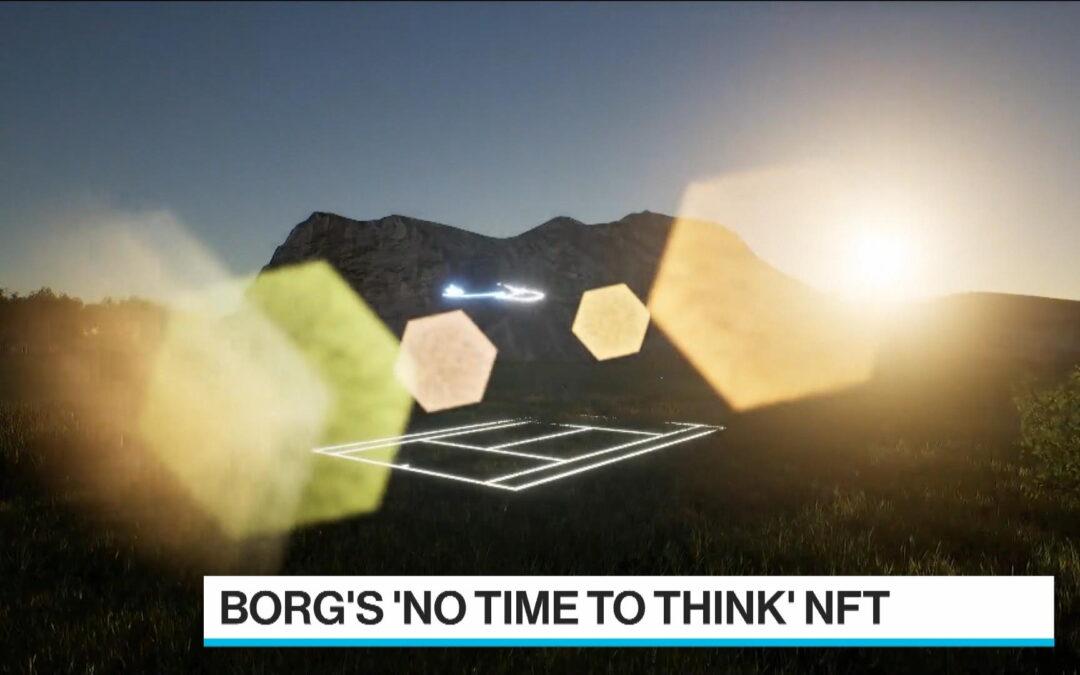 Björn Borg säljer NFT – Wimbledon Finalen 1980