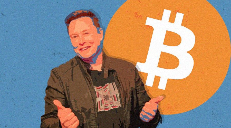 Elon Musk Positiv till Bitcoin – Kursen Rusar