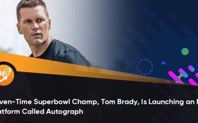 Tom Bradys NFT plattform Autograph signar Woods, Gretzky med flera
