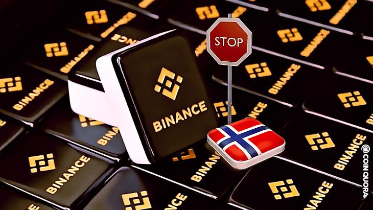 Binance Drar Sig Ur Norge