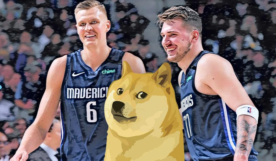 Dallas Mavericks Promotar Dogecoin