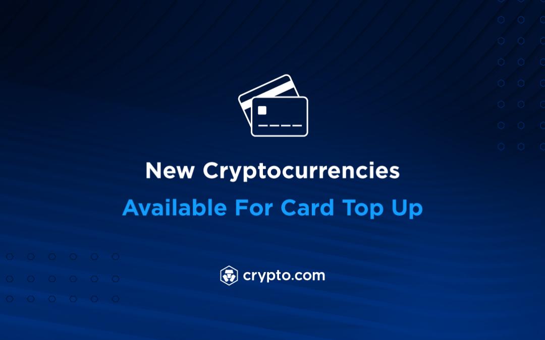 Nya Noterade Kryptovalutor på Crypto.com
