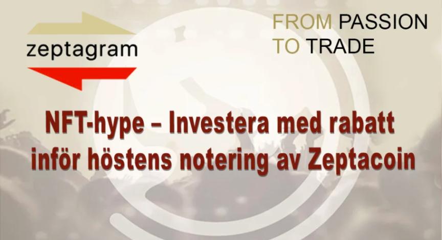 Så Köper Du Zeptacoin – Nya Svenska Kryptovalutan