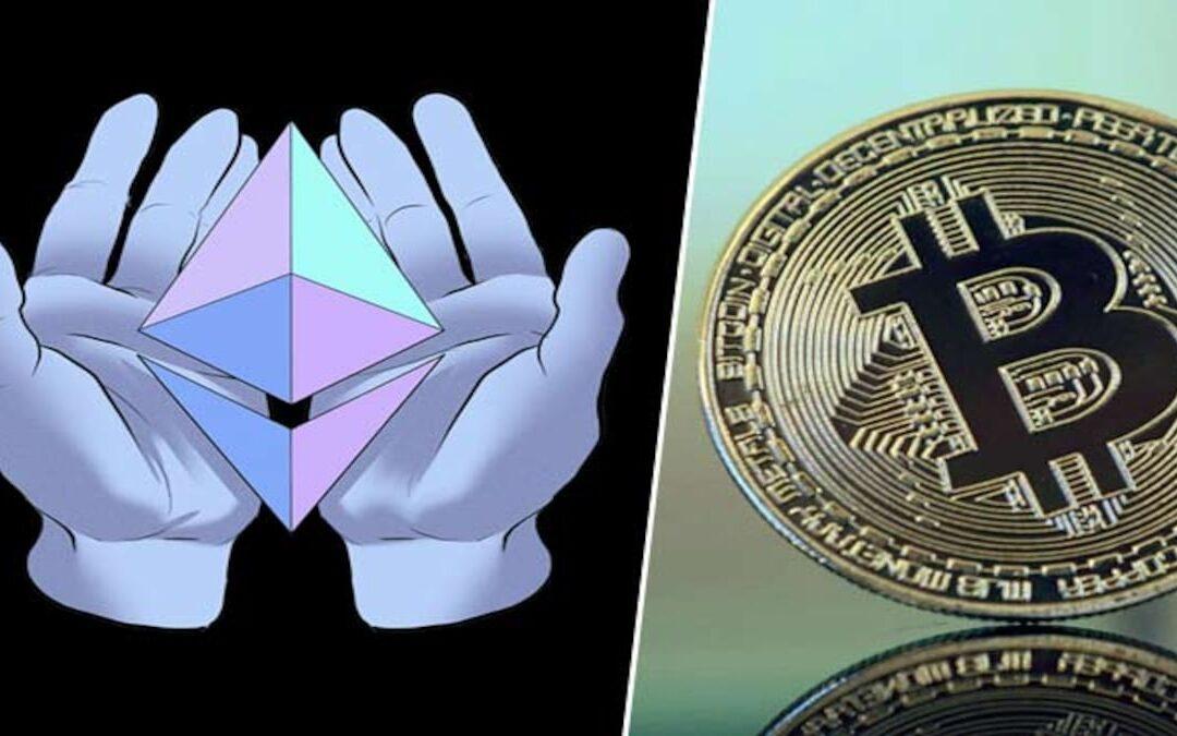 Ethereum Snart Världens Största Kryptovaluta – Nu Är BTC Bara Dubbelt Så Stor