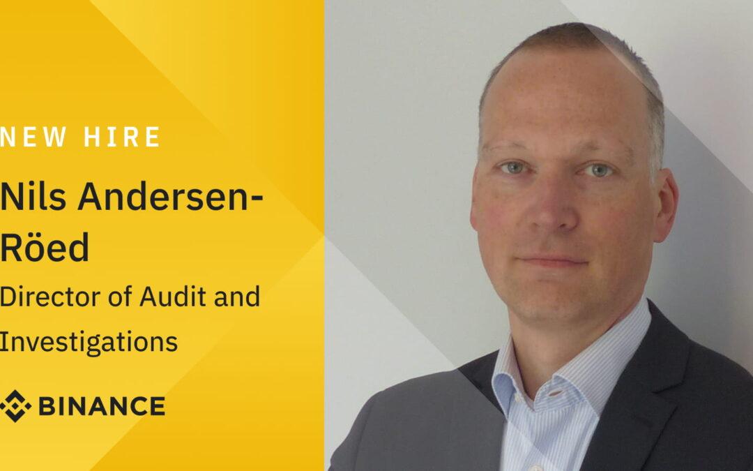 Binance Fortsätter Imponera – Anställer Nils Andersen-Röed
