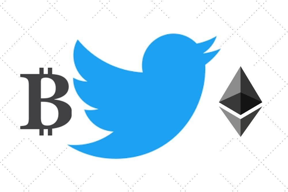Twitter Adderar Ny Funktion För BTC och ETH