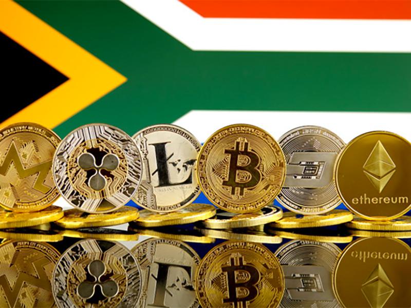 Varannan Sydafrikan Äger Kryptovaluta